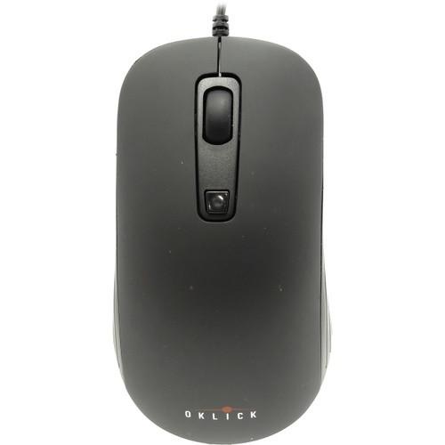 Мышь Oklick 155M черный