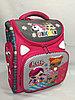 Школьный ранец для девочек, 1-й класс.Высота 35 см, ширина 29 см, глубина 15 см.
