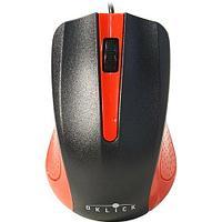 Мышь Oklick 225M черный/красный