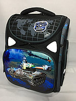 Школьный ранец для мальчика в 1-й класс.Высота 35 см, ширина 29 см, глубина 15 см., фото 1