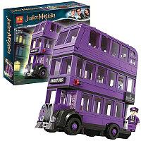 Конструктор LARI Justice Magician Автобус «Ночной рыцарь» арт.11342 (Аналог LEGO Harry Potter 75957)
