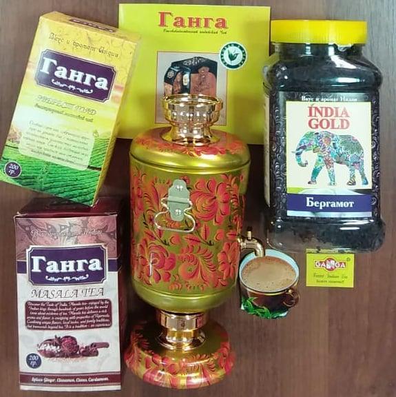 """Индийский чай """"Ганга"""" без красителей и искусственных ароматизаторов 1"""