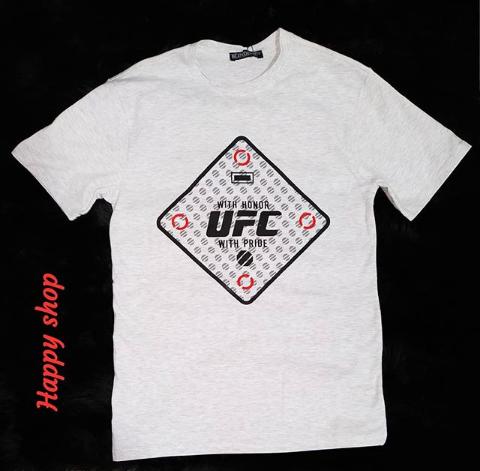 Мужская серая футболка UFC