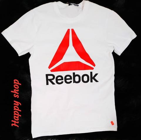 Мужская белая футболка Reebok