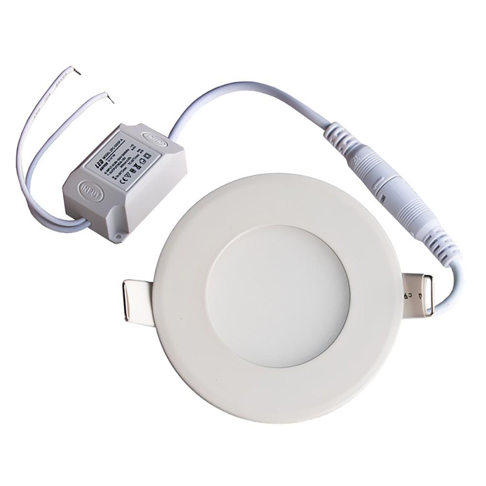 Круглый встраиваемый Led светильник 12 W