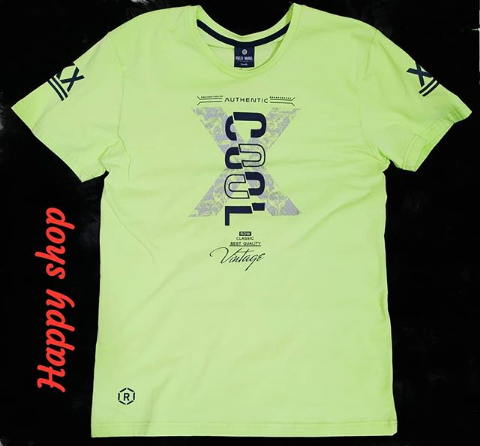 Мужская зеленая футболка с надписью