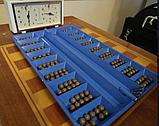 Казахская народная игра Тогыз Кумалак 38 см. Тоғызқұмалақ, фото 2