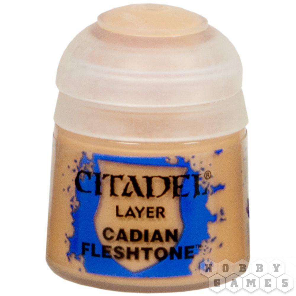 АКСЕССУАРЫ ВАРХАММЕР: Кадианский оттенок (Paint Pot: Cadian Fleshtone)