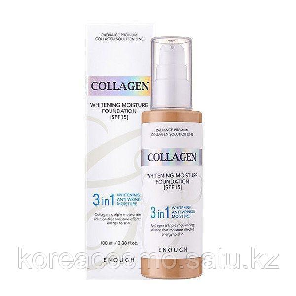Enough Collagen Whitening 3in1 Moisture Foundation SPF 15 100мл