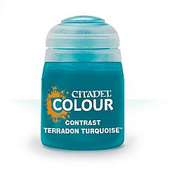 Краска Контраст (CONTRAST: TERRADON TURQUOISE (18ML)