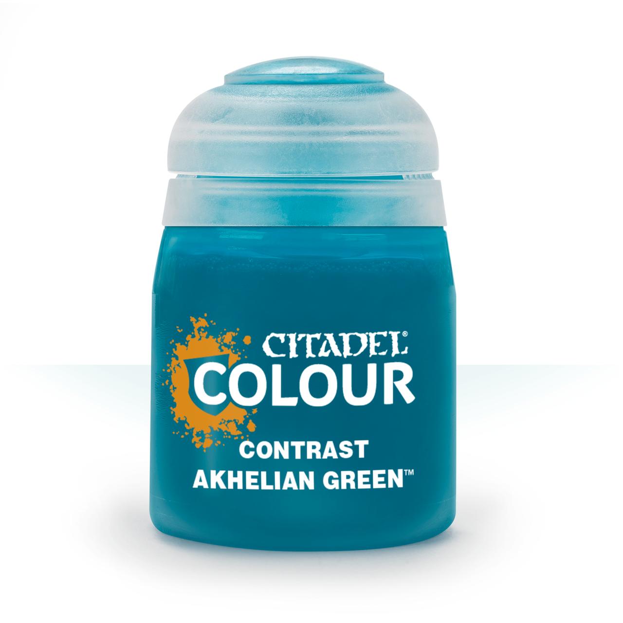 ВАРХАММЕР АКСЕССУАРЫ: CONTRAST: AKHELIAN GREEN (18ML)