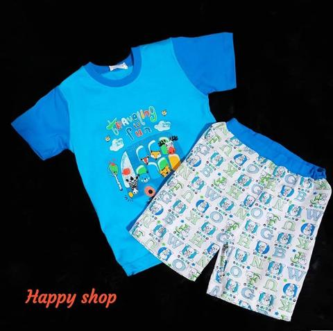Пижама футболка и шорты для мальчика