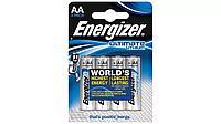 Элемент питания FR6 AA Energizer Lithium  4 штуки в блистере
