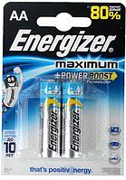 Элемент питания LR6 AA Energizer MAXIMUM  Alkaline 2 штуки в блистере