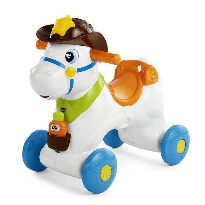 """Каталка Chicco """"Лошадка Baby Rodeo"""" 12м+"""