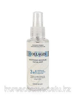 Enough Отбеливающий увлажняющий мист с коллагеном для лица Collagen 3 in 1 Whitening Moisture Facial Mist