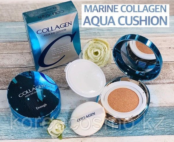 Enough Увлажняющий кушон с коллагеном Collagen Aqua Air Cushion
