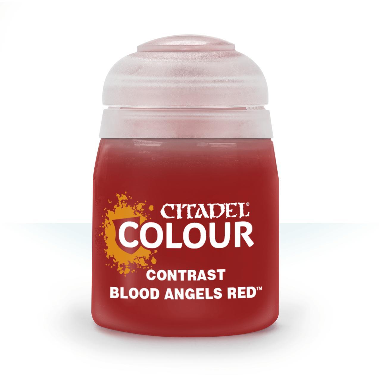ВАРХАММЕР АКСЕССУАРЫ: Краска CONTRAST: BLOOD ANGELS RED (18ML) - фото 1