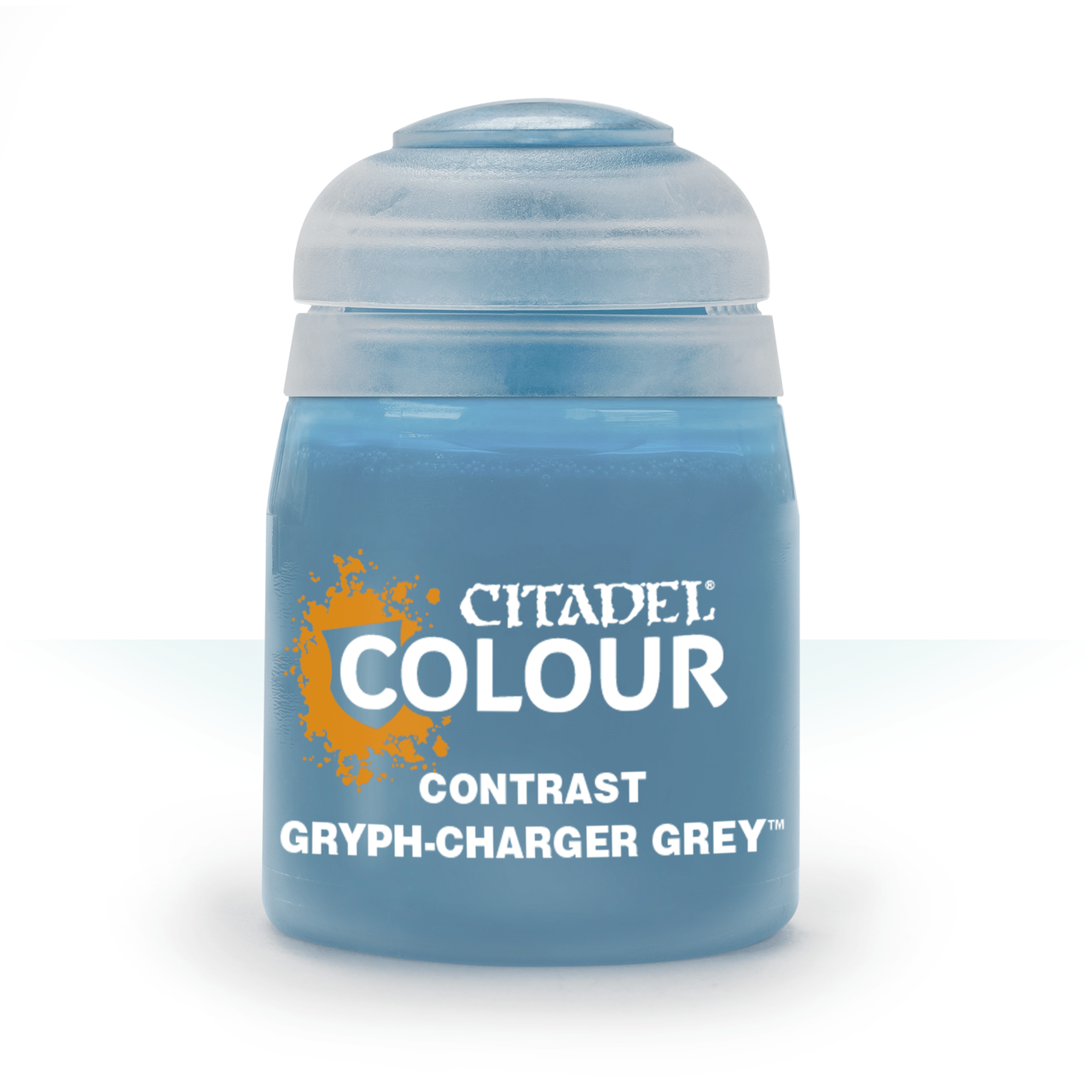 ВАРХАММЕР АКСЕССУАРЫ: CONTRAST: GRYPH-CHARGER GREY (18ML) - фото 1
