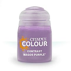 ВАРХАММЕР АКСЕССУАРЫ: Краска CONTRAST: MAGOS PURPLE (18ML)
