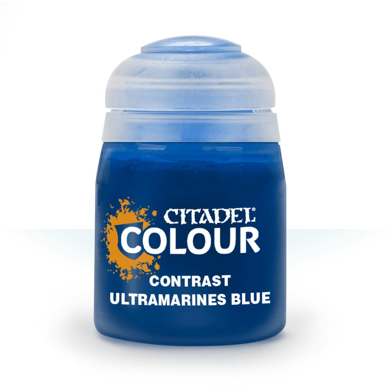 ВАРХАММЕР АКСЕССУАРЫ: Краска CONTRAST: ULTRAMARINES BLUE (18ML)