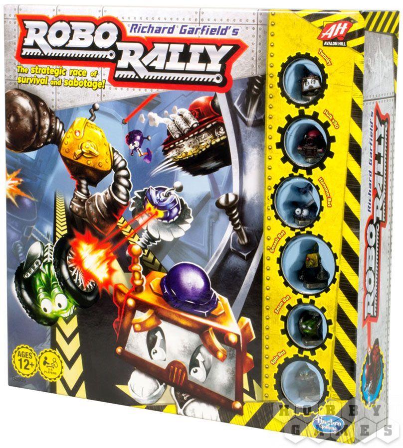Настольная игра: Роборалли (Roborally) (новое издание)