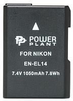 Аккумулятор для Nikon EN-EL14 Chip (PowerPlant) 1050mAh