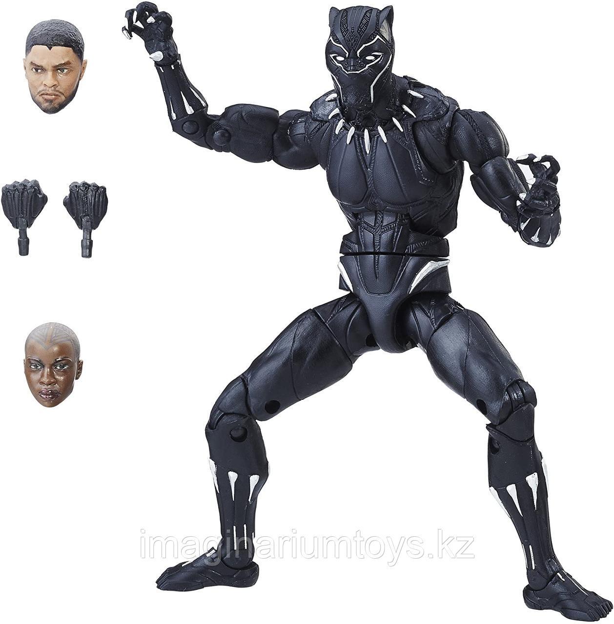 Фигурка Черная пантера полная подвижность 15 см с аксессуарами