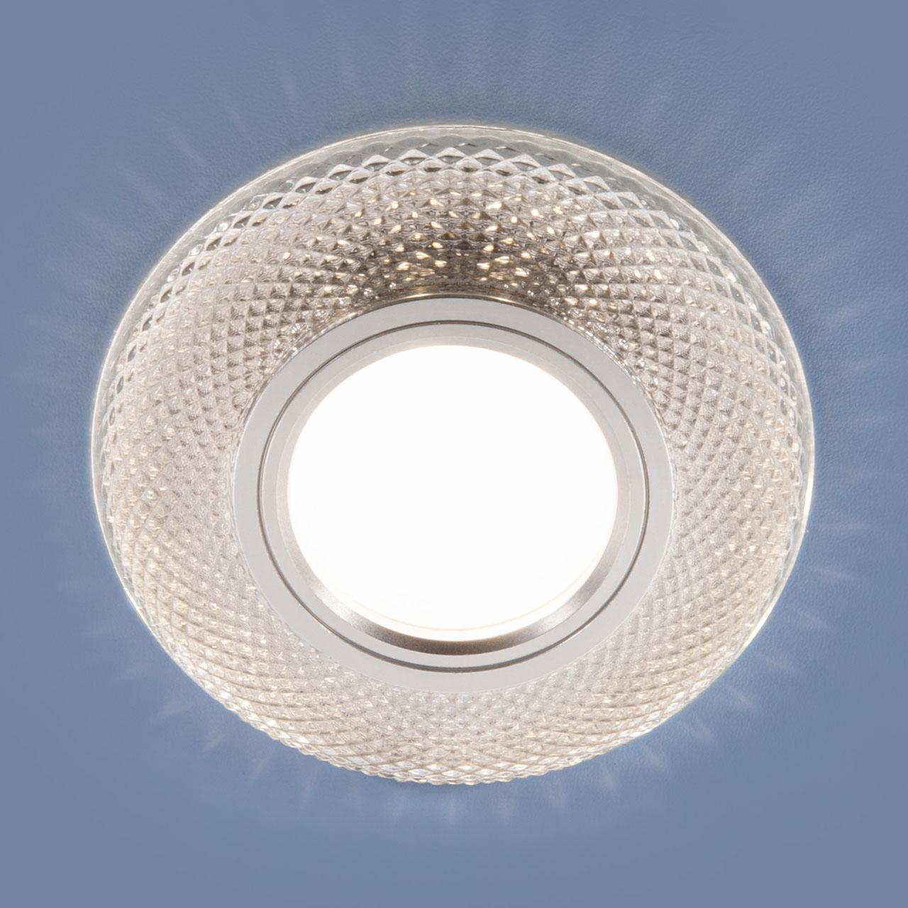 2238 MR16 / Светильник втраиваемый CL прозрачный