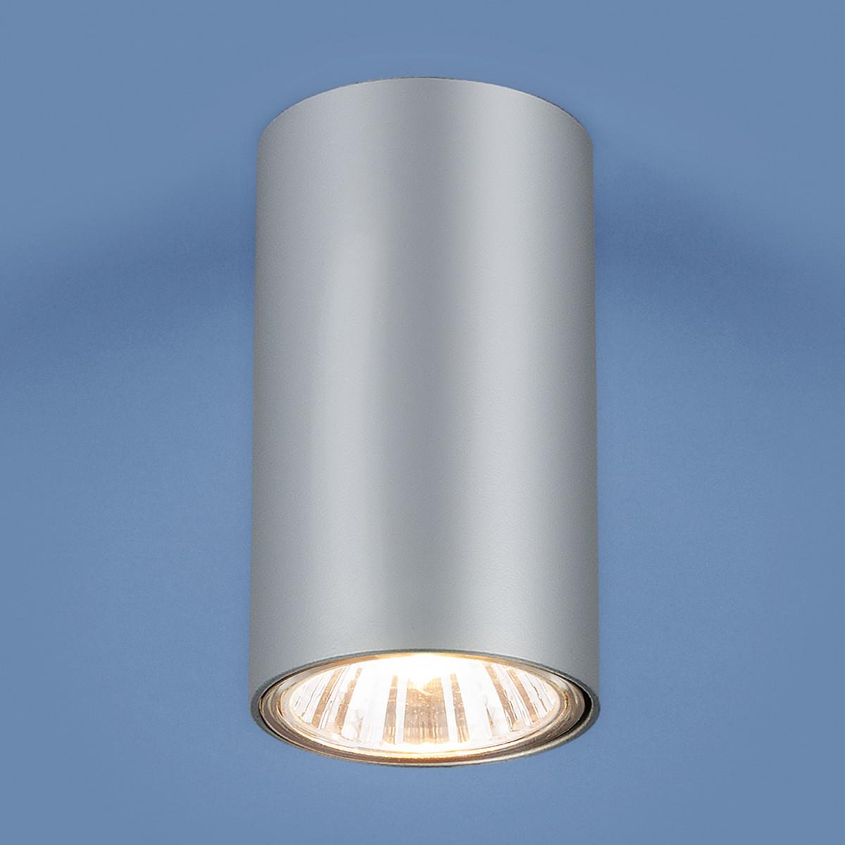 1081 GU10 /Светильник накладной SL серебро