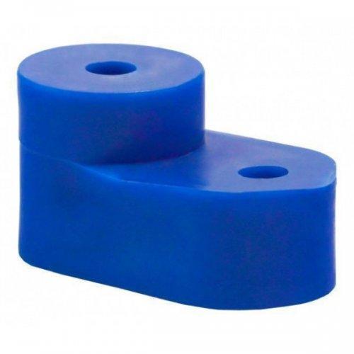 """Изолятор для """"О""""-шины (угловой) синий ИЭК"""