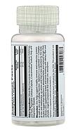 Solaray, OptiZinc, 30 мг, 60 растительных капсул, фото 3