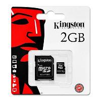 Карта памяти MicroSD 2 ГБ