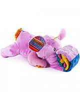 """Развивающая игрушка BIBA TOYS """"СЛОН ЭЛЛИ"""" (Pink, 60*16 см)"""