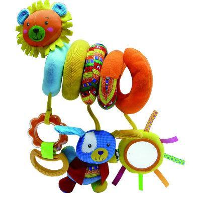 """Развивающая игрушка спираль BIBA TOYS """"ЛЁВА+ЗАЯ"""" (50*35.5*30 см)"""