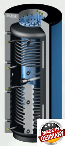 Бойлер емкостные напольные - косвенного нагрева ESS-PU 500 - фото 3