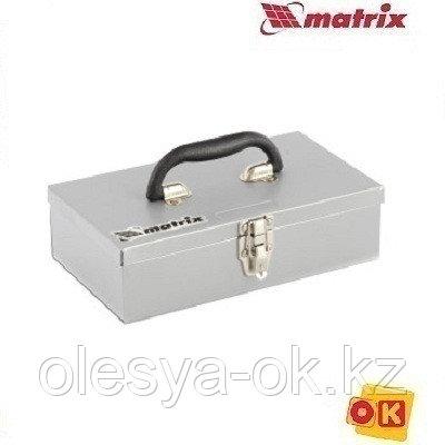 Ящик для инструмента 284х160х78 мм, металлический MATRIX. 906055
