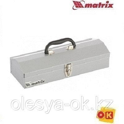 Металлический ящик для инструмента 410х154х95 мм, MATRIX. 906035