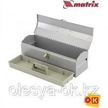 Ящик для инструмента 480х154х165 мм, металлический MATRIX. 906025