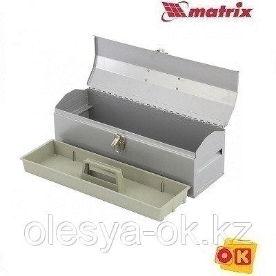 Ящик для инструмента 480х154х165 мм, металлический MATRIX. 906025, фото 2