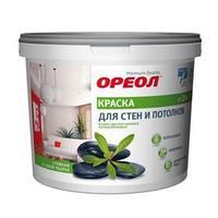 Краска водно-дисперсионная для внутренних работ белая 3 кг