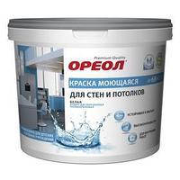 Краска водно-дисперсионная белоснежная суперстойкая для влажных помещений 3,0 кг