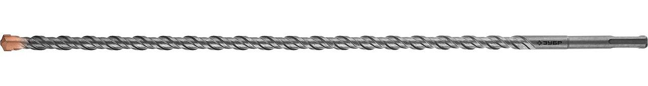 "Бур по бетону ЗУБР, 22 х 600(550) мм, SDS-Plus, серия ""Профессионал"" (29314-600-22_z01)"
