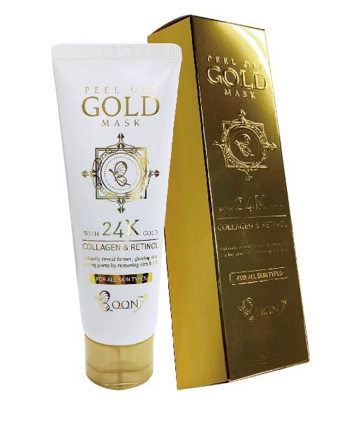 Маска - пленка для лица Boon 7 Collagen & Retinol Peel Off Gold Mask 100g.