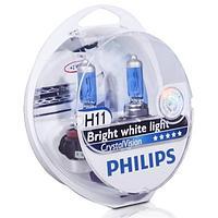Лампы Philips H11 Crystal Vision