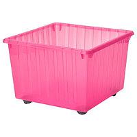 Ящик на колесах ВЕССЛА светло-розовый, 39x39 см ИКЕА, IKEA, фото 1