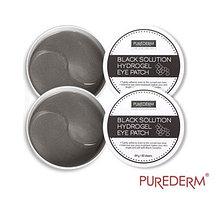 Гидрогелевые патчи для глаз Purederm Black Solution Hydrogel Eye Patch 87g/ 60 шт.