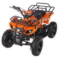 Квадроцикл детский бензиновый MOTAX ATV Х-16 Мини-Гризли, оранжевый, электростартер и родительский пульт