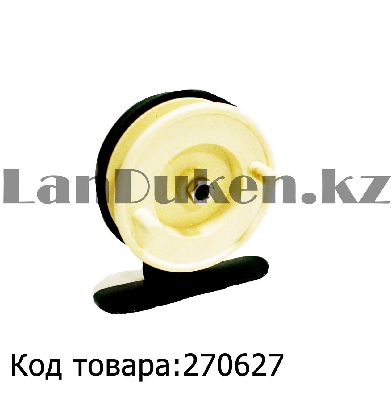 Инерционная катушка для удочки металлическая - фото 1