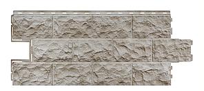 Фасадные панели Бежевый 1137x472 мм  Дачные Доломит FINEBER